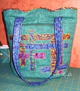 zöld táskám
