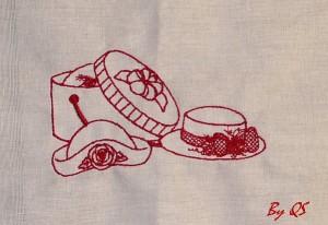 redwork kalapok