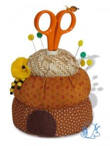 Méhkas tűpárna