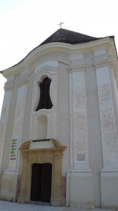 Templom előről
