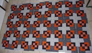 fekete- narancs verzió
